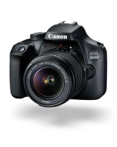 Canon EOS 3000D DSLR Camera with 18-55 Lens