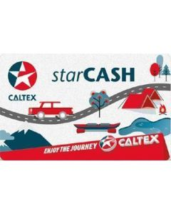 Caltex StarCash $100 Physical Gift Card (delivered by courier)