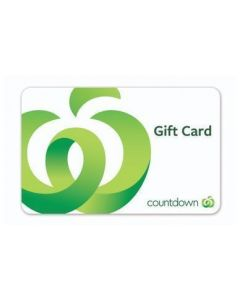 Countdown $100 Physical Gift Card (delivered by courier)